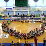 Участь в спортивно-розважальній програмі «Діти за ради миру»